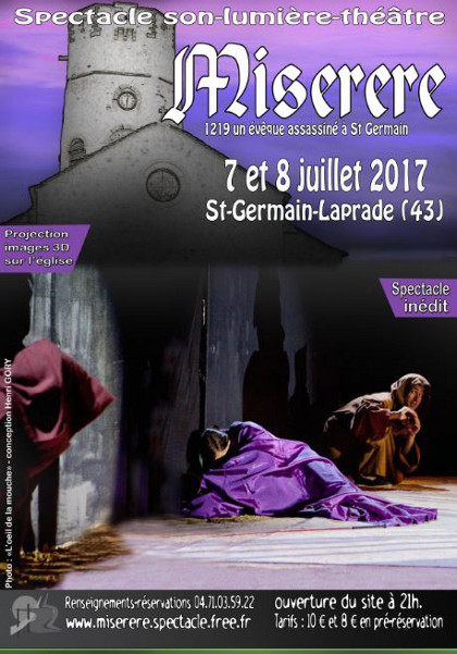 Animation spectacle Miserere