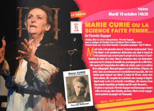 Marie Curie ou la science faite femme ...