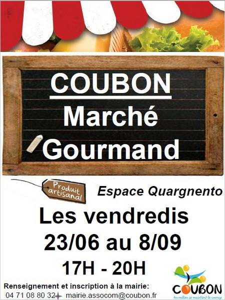 Vendredis Marché Gourmand